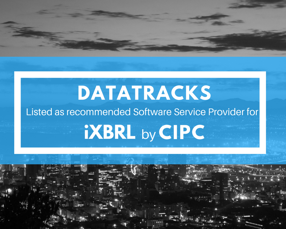 taTracks Listed as Recommended Software Service Provider (SSP) for iXBRL by CIPC